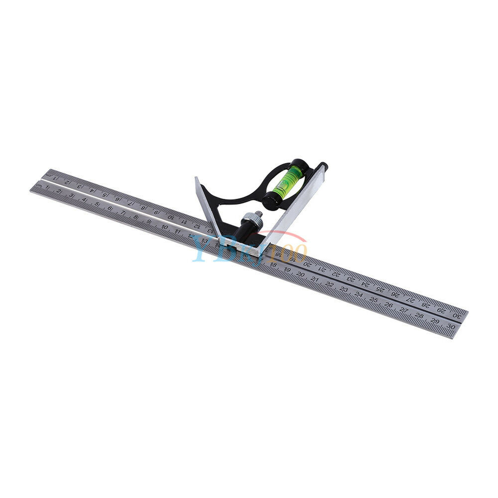 adjustable 12 u0026quot  engineers combination try square ruler for measuring marking out