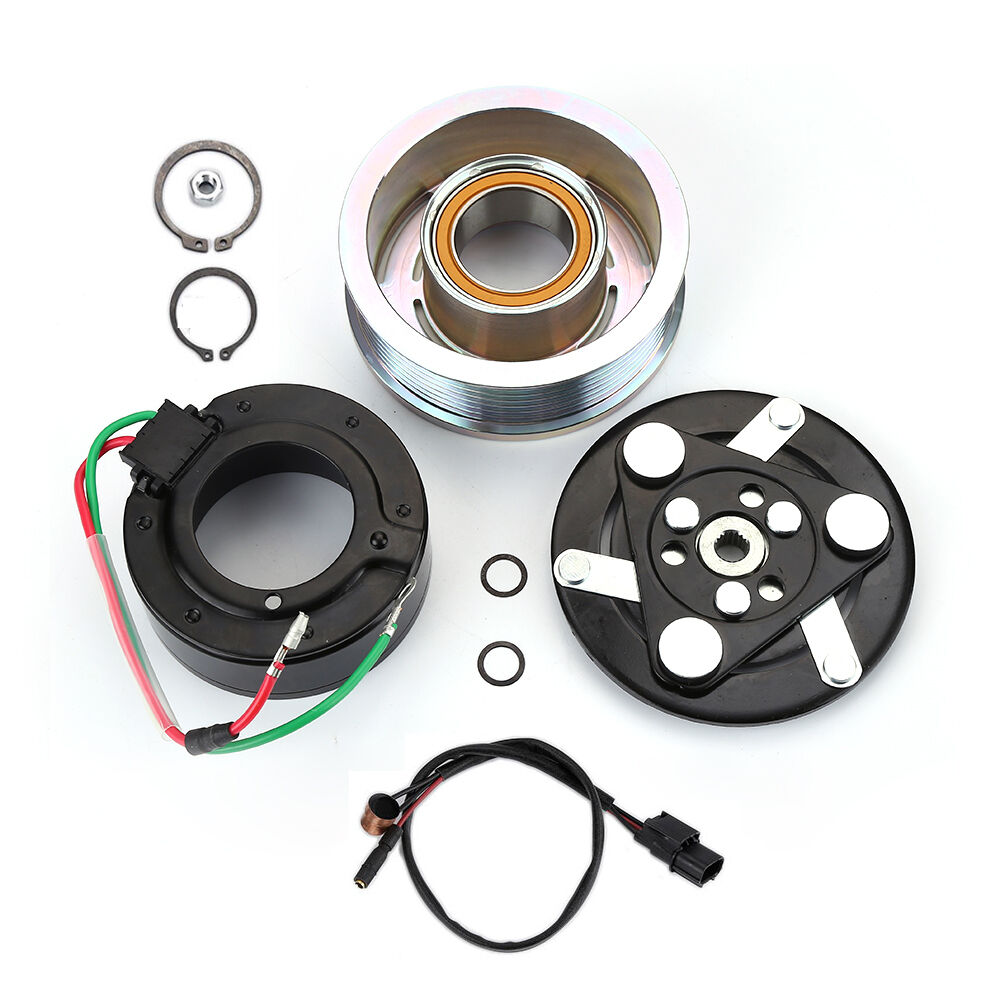 A/C AC Compressor Clutch Pulley Bearing Coil Plate For