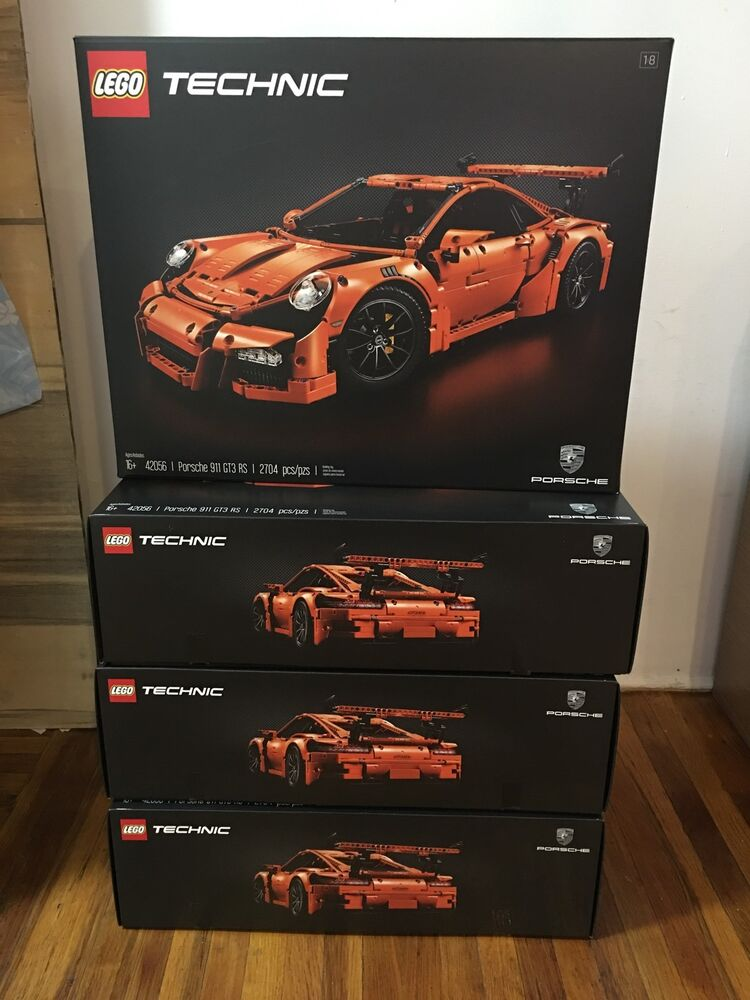 new lego technic porsche 911 gt3 rs 42056 ready to ship 673419248730 ebay. Black Bedroom Furniture Sets. Home Design Ideas