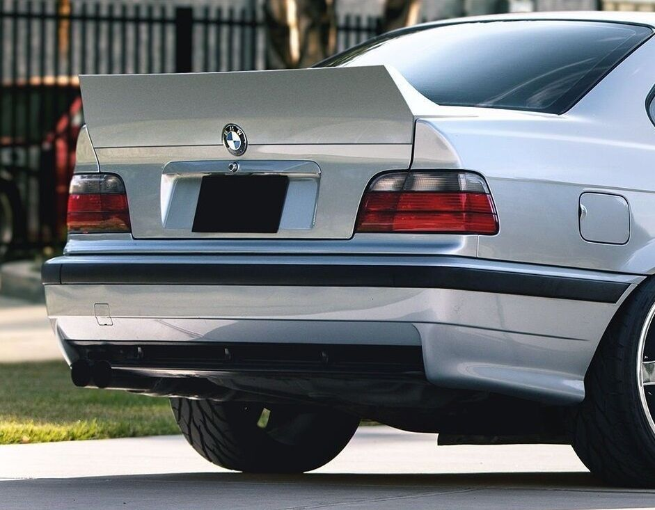 bmw 3 e36 rear boot trunk tailgate spoiler duck tail. Black Bedroom Furniture Sets. Home Design Ideas