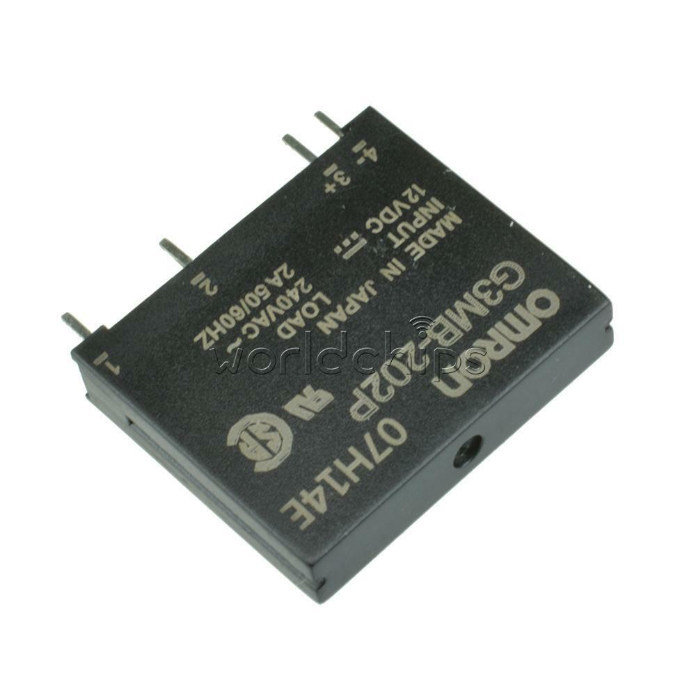 Ssr Relay 12v Wiring Diagrams Solid State Driver 5pcs G3mb 202p Dc Ac Pcb In 12vdc Out 240v 2a 40a Automotive