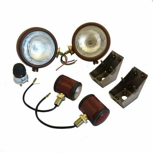 Massey Ferguson Light Bulb : Massey ferguson fe riveted head light lamp butler