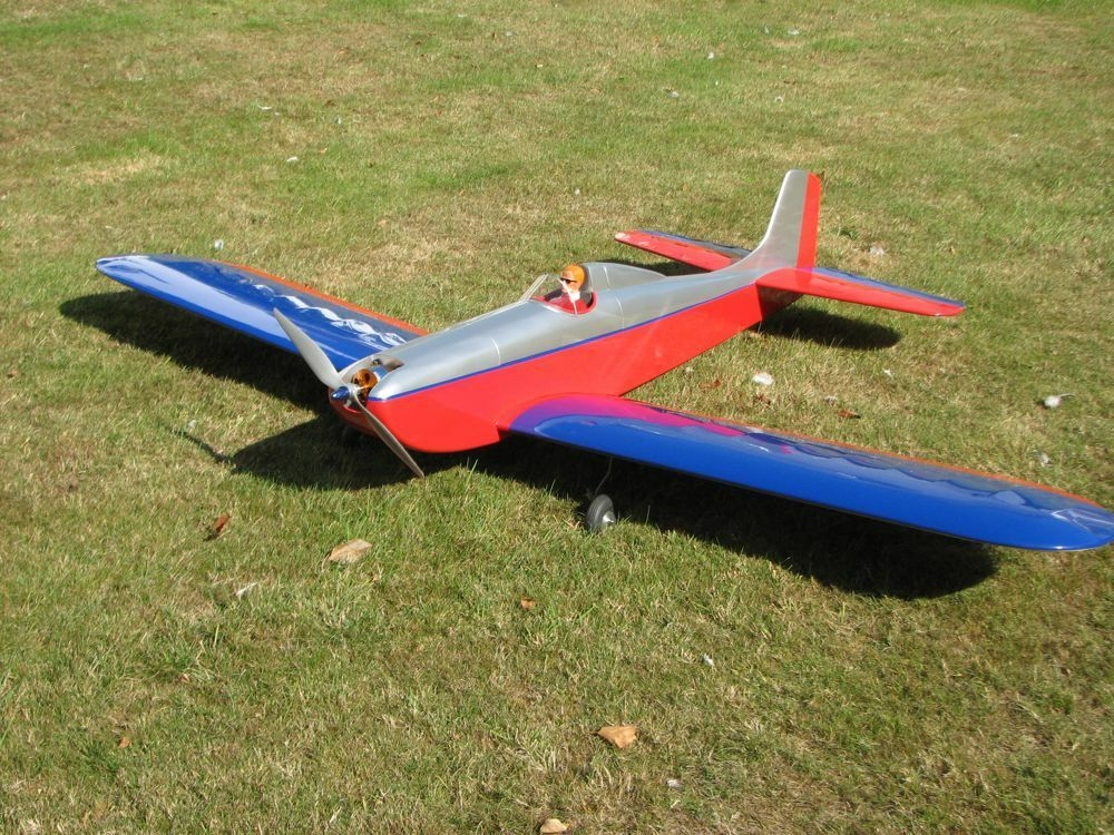 Quot Baby Astro Hog Quot 42 Inch Wing Span Sport Rc Model Airplane