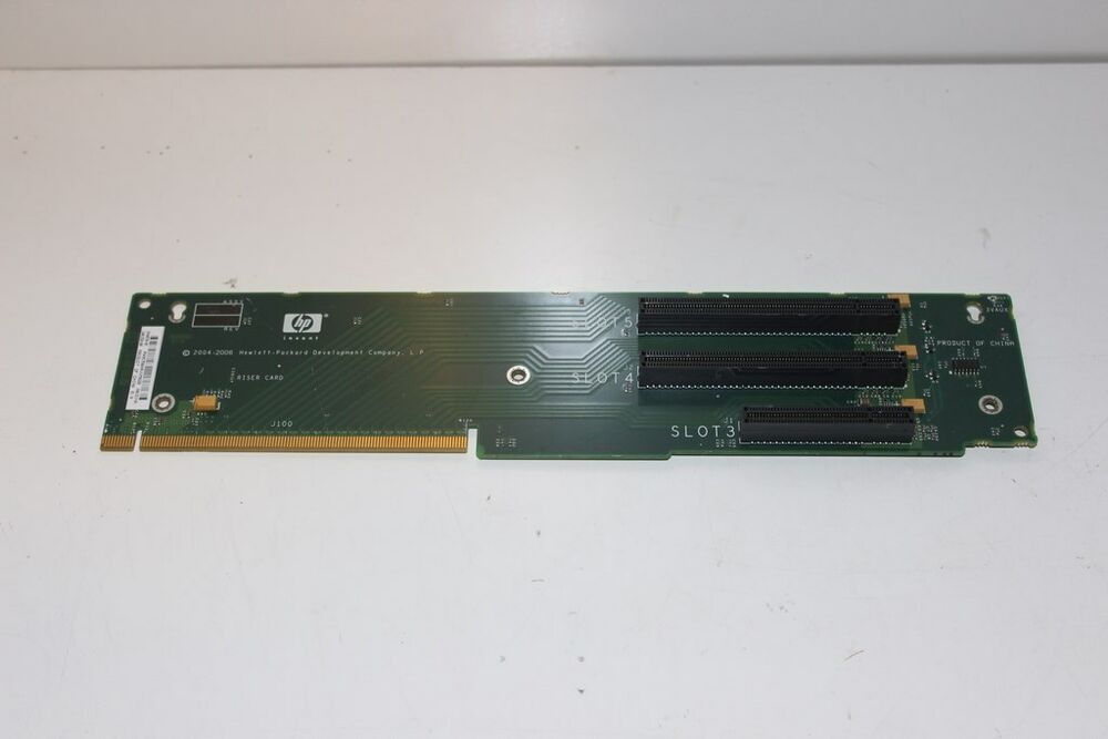 hp proliant dl380 g5 server pcie riser card 408786 001 ebay. Black Bedroom Furniture Sets. Home Design Ideas
