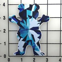 Grizzly Grip Diamond Supply 4'' TAll Color Vinyl Decal Sticker BOGO