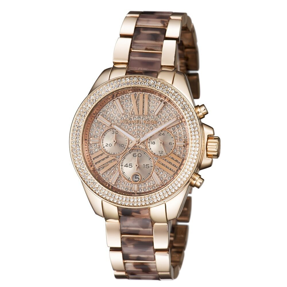 Buy Michael Kors Mid Size Espresso Parker Brown Watch MK and other Watches at adoption-funds.ml Our wide selection is eligible for free shipping and free returns.