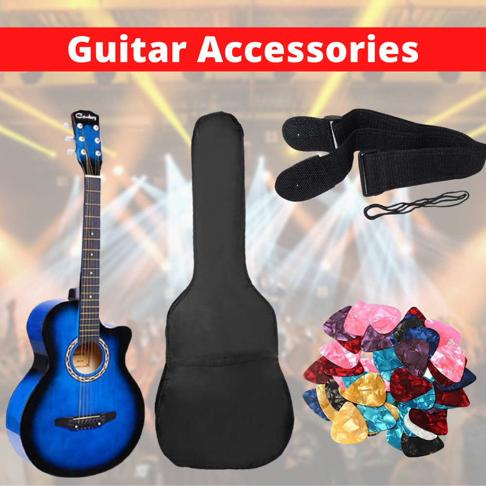 blue 3 4 saiz 38 acoustic classic guitar for beginners student adults 6 string ebay. Black Bedroom Furniture Sets. Home Design Ideas