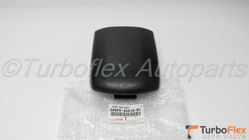 Toyota Rav4 2001 2005 Dark Gray Center Console Lid Genuine