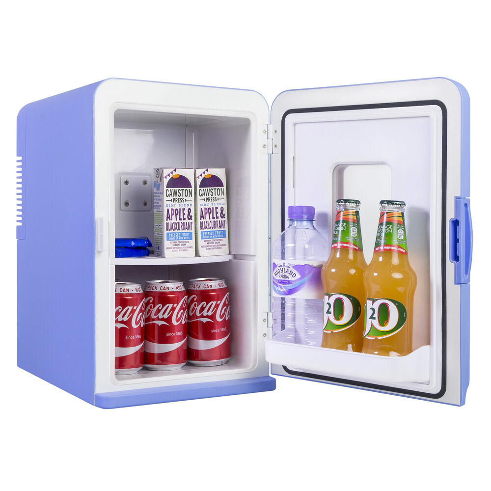 Iceq 15 litre deluxe portable mini fridge with window for Small room fridge