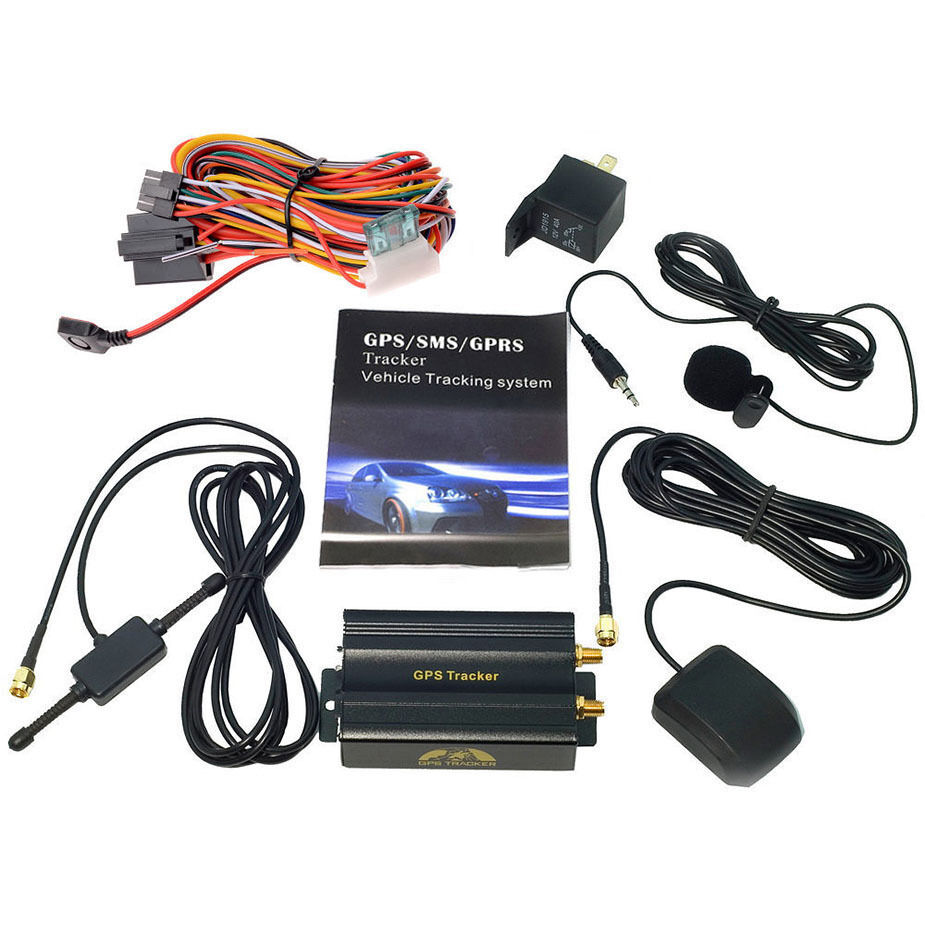 mini gps sms gprs tracker tk103a vehicle car realtime. Black Bedroom Furniture Sets. Home Design Ideas
