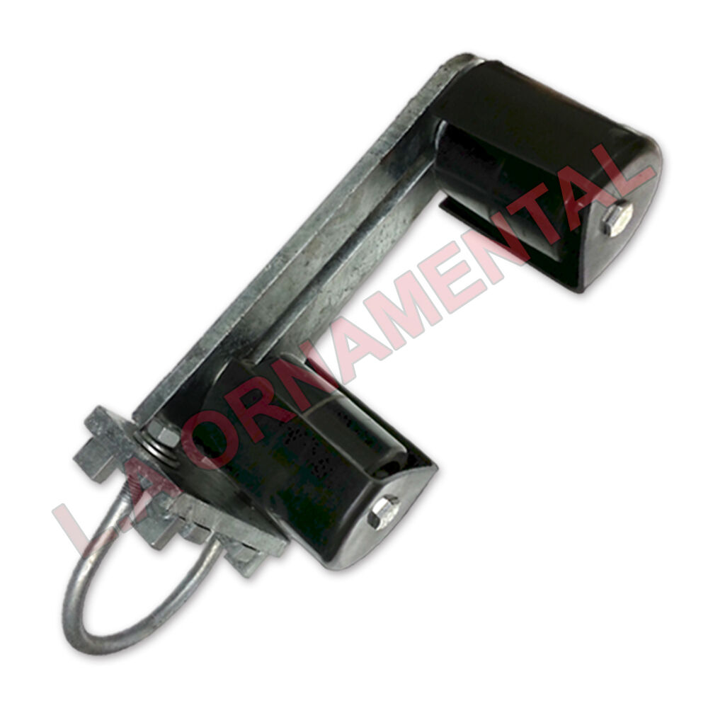 4 Quot Adjustible Bottom Guide Roller W Cover Gate Idler