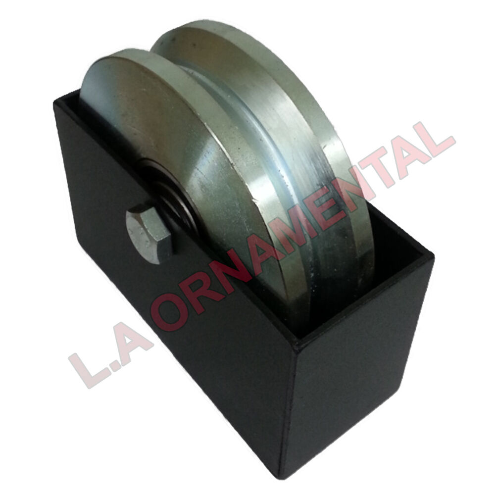Quot dura v groove wheel cover double bearing sliding gate