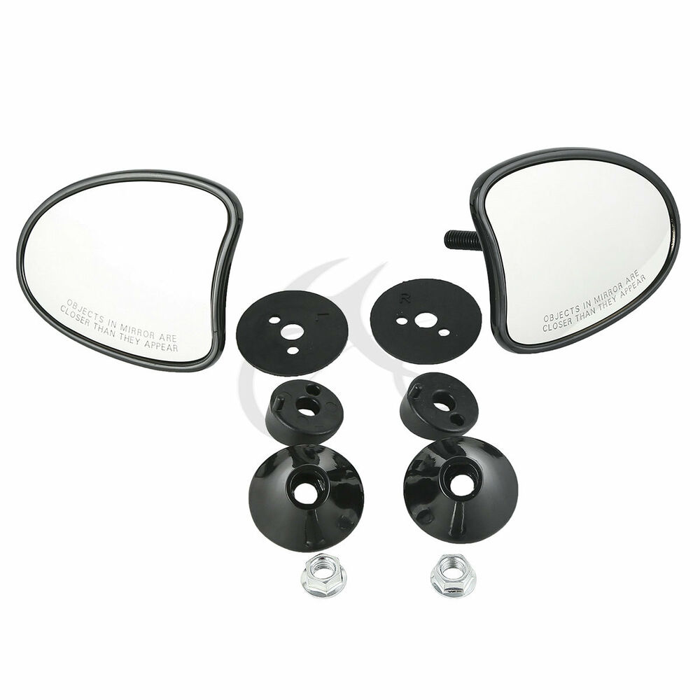 10mm Inner Fairing Mount Mirrors For Harley Street Glide
