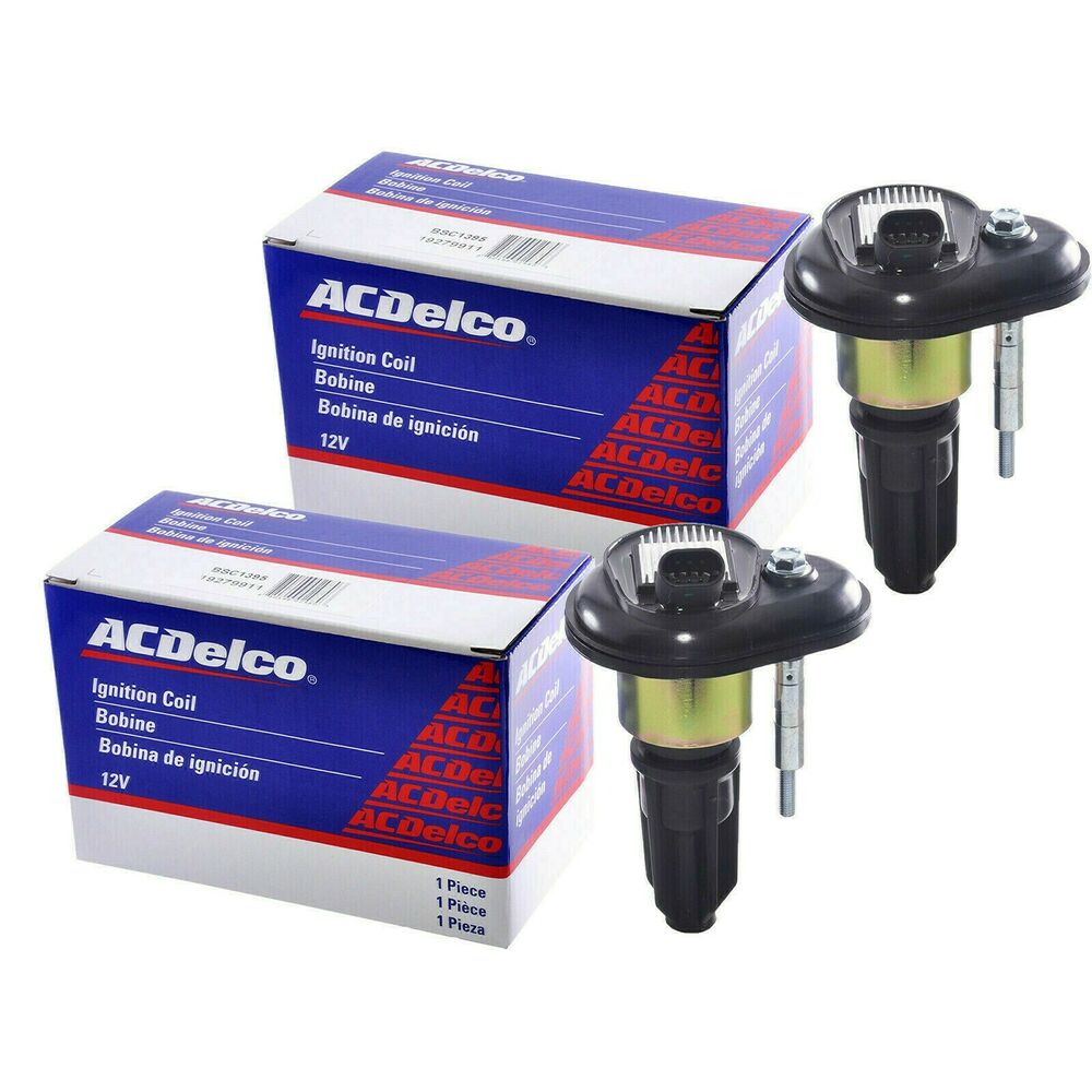 Ignition Coil Trailblazer: (2pcs) GM ACDELCO OEM IGNITION COIL 12568062 Chevy