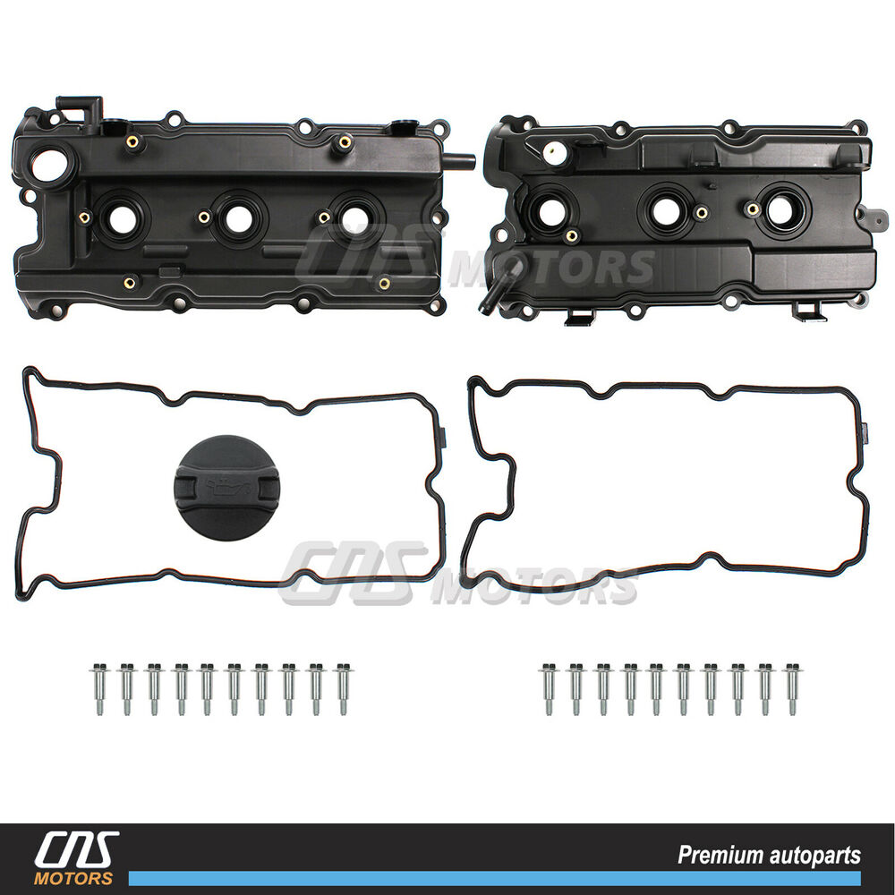 Valve Cover Amp Gasket Right Amp Left For 02 09 I35 Altima