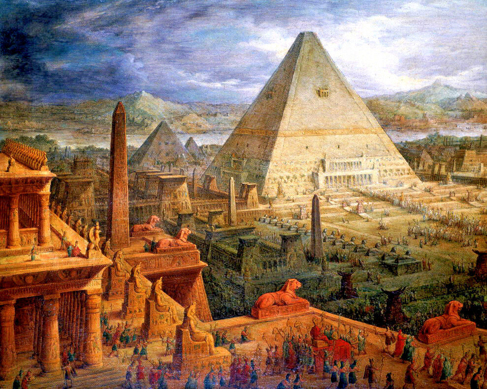Artfully Musing: Egyptian Papyrus for Your Art |Egyptian Art Paintings