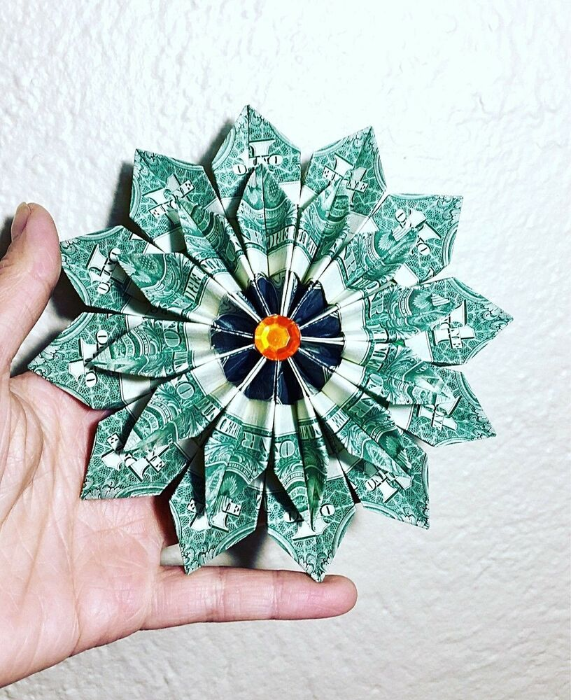 Origami Flower With A Dollar Bill 5855319 114searchfo