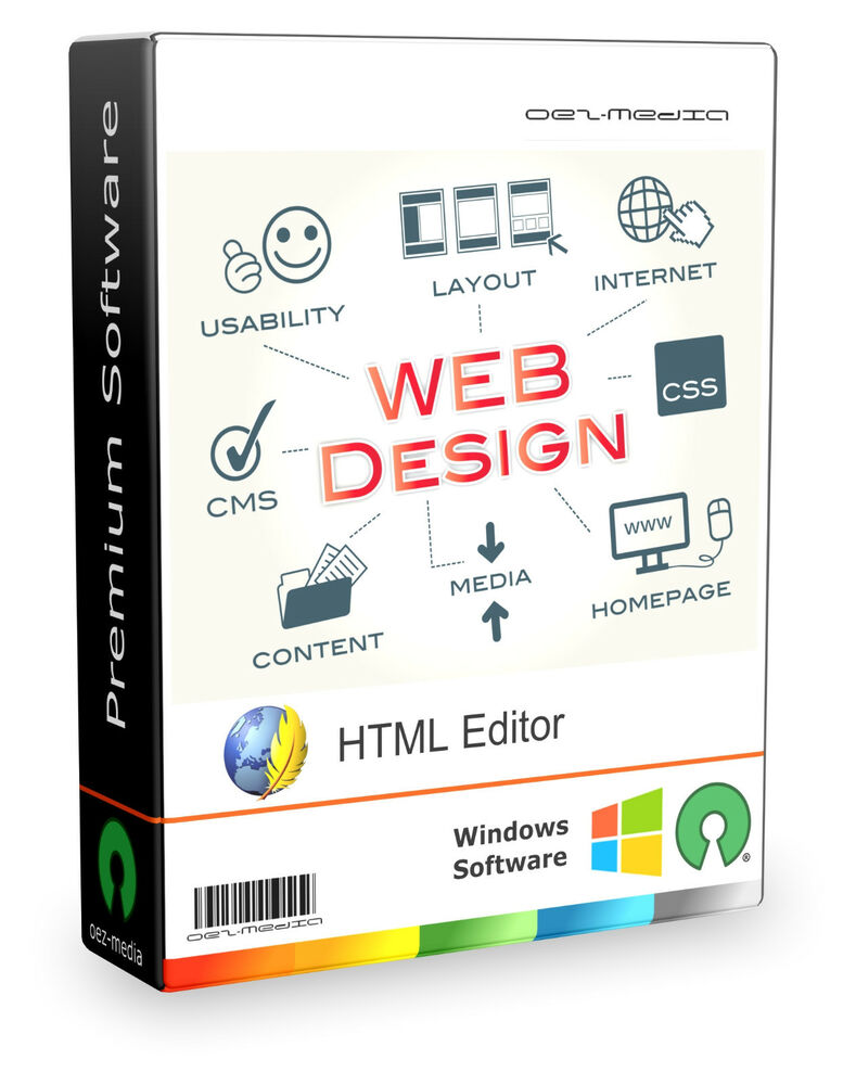 Web design software html editor wysiwyg css for Website layout maker