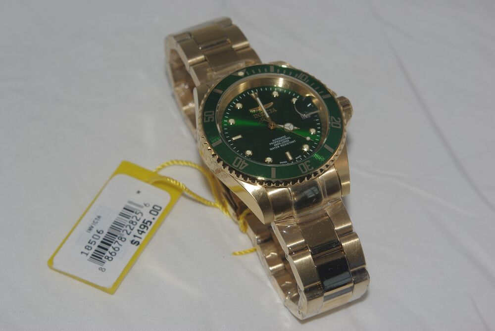 Invicta 18506 swiss made pro diver automatic classic 40mm - 40mm dive watch ...