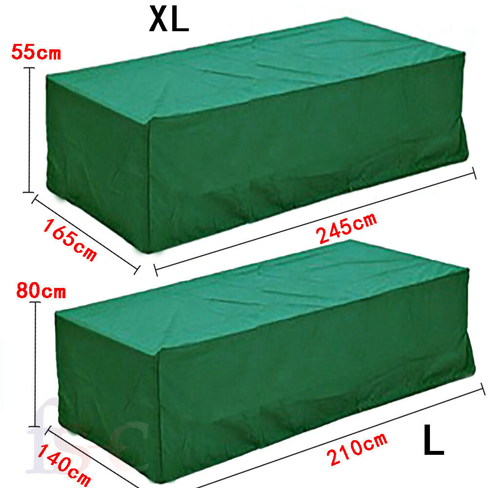 Waterproof Cover Covers Table Sofa Bench Cube Garden
