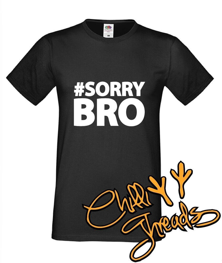 sorrybro elliot phillips funny t shirt premium t shirt youtube sorry bro ben ebay. Black Bedroom Furniture Sets. Home Design Ideas