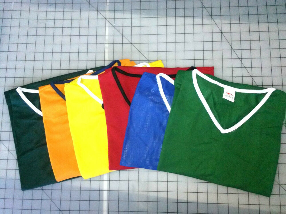 6 Scrimmage Vests Pinnies Pennies Soccer Football Basketball Adult Youth Child Ebay