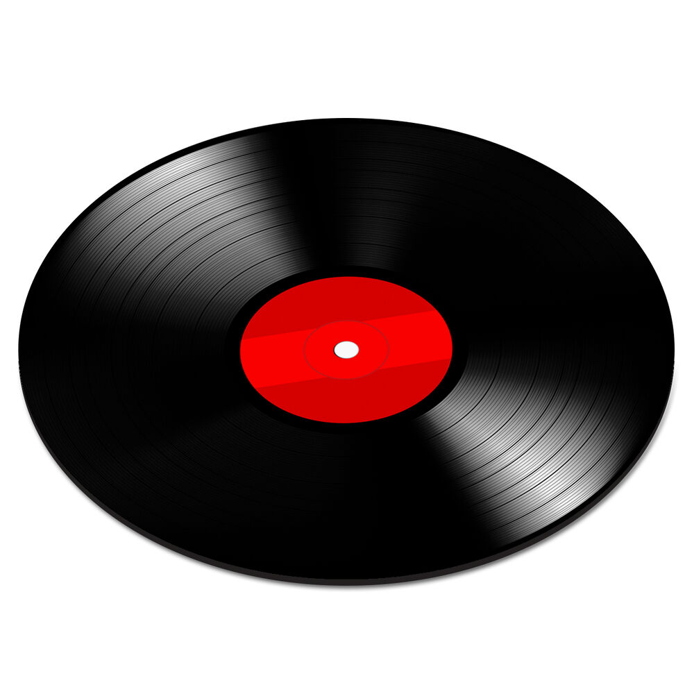 Vinyl Record Disc Red Turntable Player Dj Mixer Funny Pc