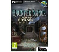 PC Hidden Object Game - Haunted Manor - Lord Of Mirrors - The Mansion Of Mystery