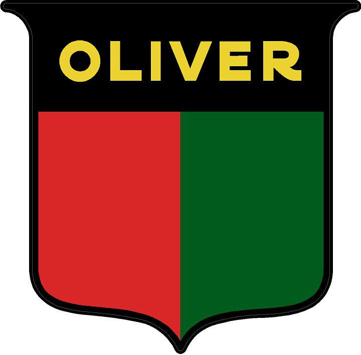 611 1 3 Quot Oliver Tractor Logo Sheild Vintage Tractor