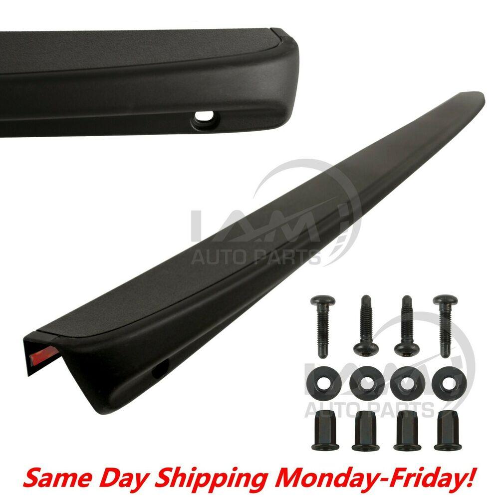 Tailgate Spoiler Cap Moulding Top Protector For 1999 2006