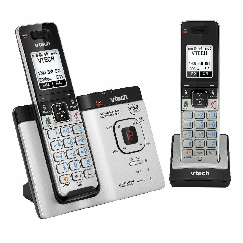 VTech Cordless Phone with 2 Handsets 15750  eBay