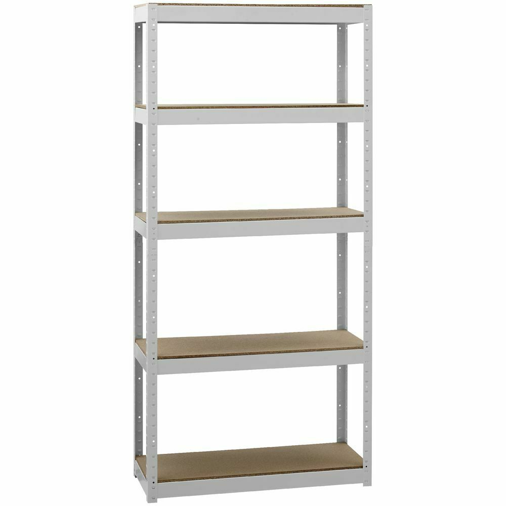 metal storage shelves cobalt 5 shelf metal shelving unit white ebay 23296