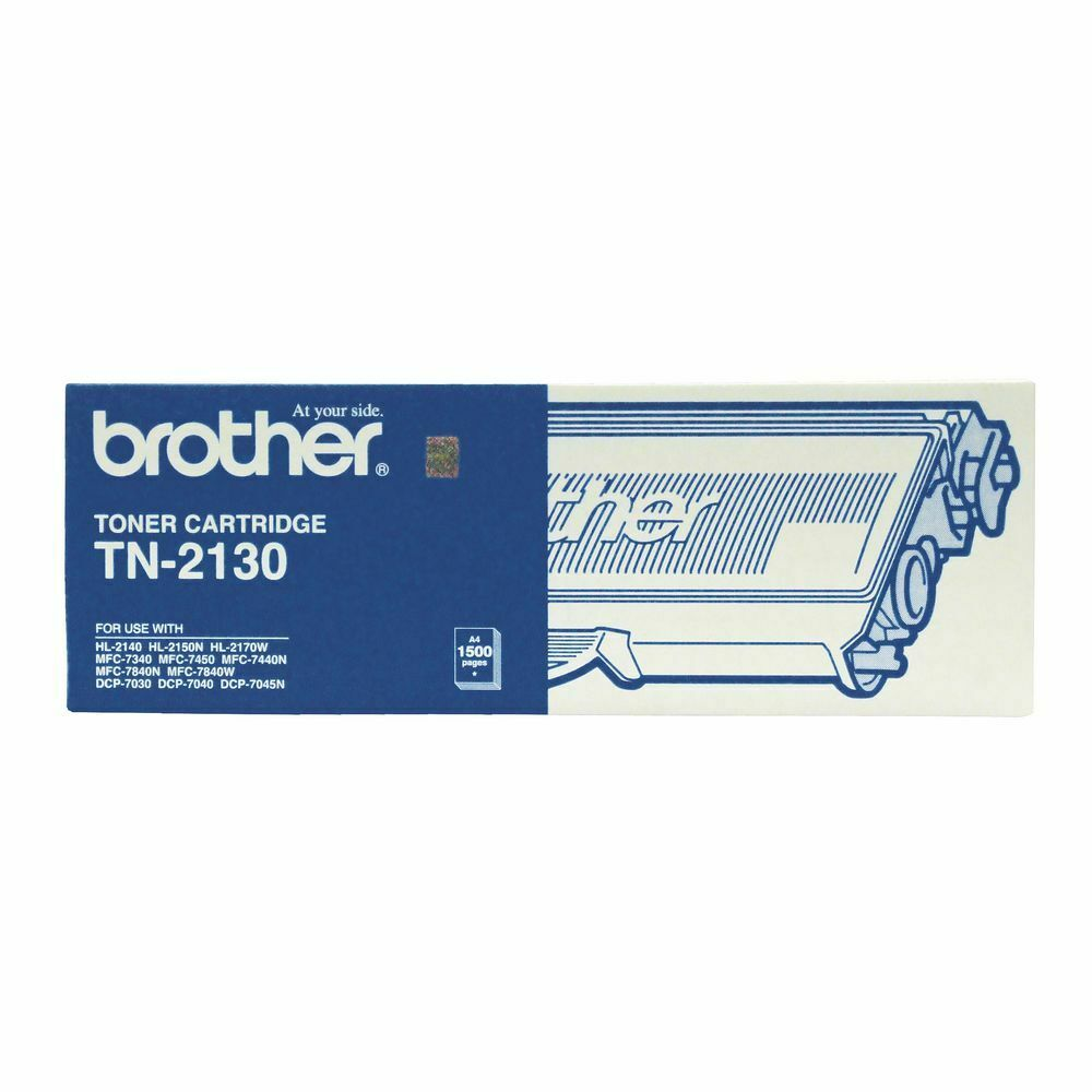 new brother toner cartridge black tn 2130 printer toner cartridge ebay. Black Bedroom Furniture Sets. Home Design Ideas