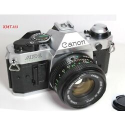 Kyпить Canon AE-1 Program 35mm Film Manual Camera w/ 50mm F1.8 Lens Excellent Condition на еВаy.соm
