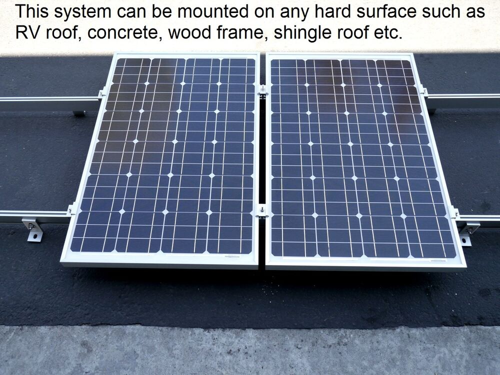 Solar Panel Mounting Rack 5 Ft Rails For Pv Photovoltaic