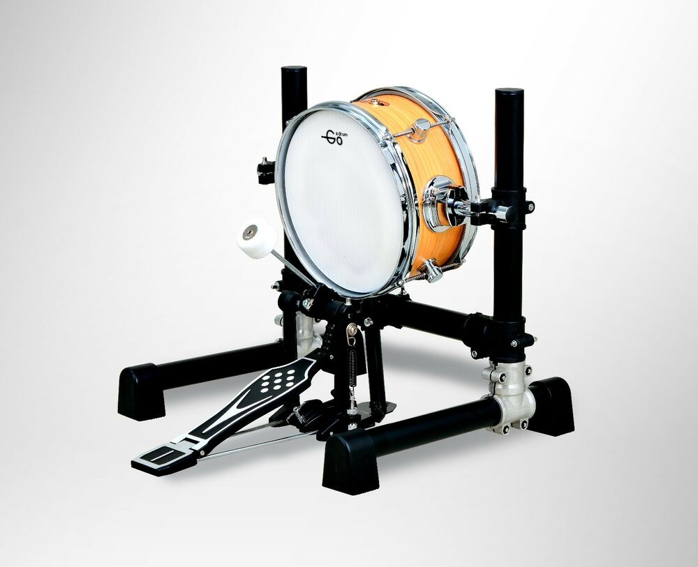 10 inch electronic bass drum with stand without pedal 10 mesh head kick drum 736649929470 ebay. Black Bedroom Furniture Sets. Home Design Ideas
