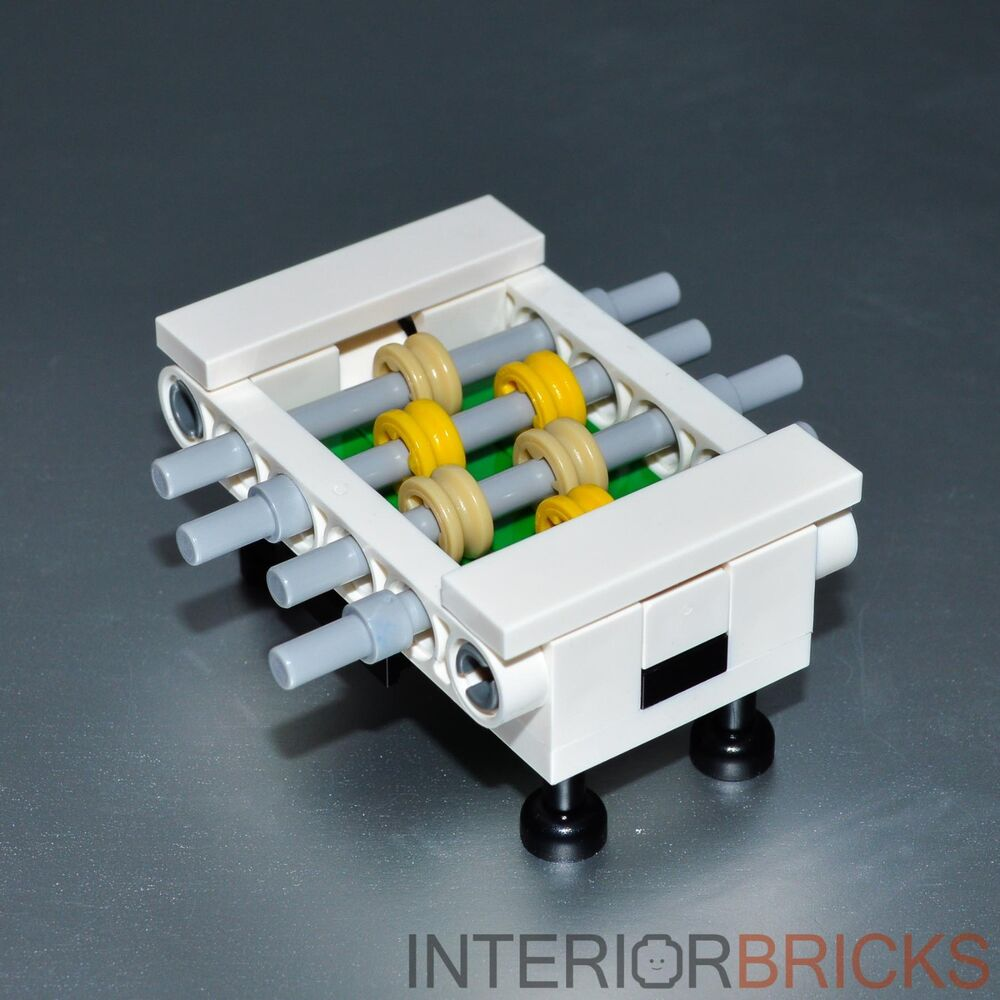 Lego Furniture Foosball Table Custom Set W Parts
