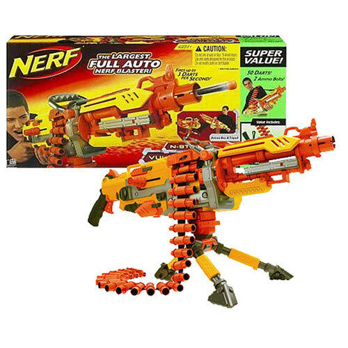 New Nerf Vulcan Ebf 25 Dart Blaster Full Auto Belt Fed
