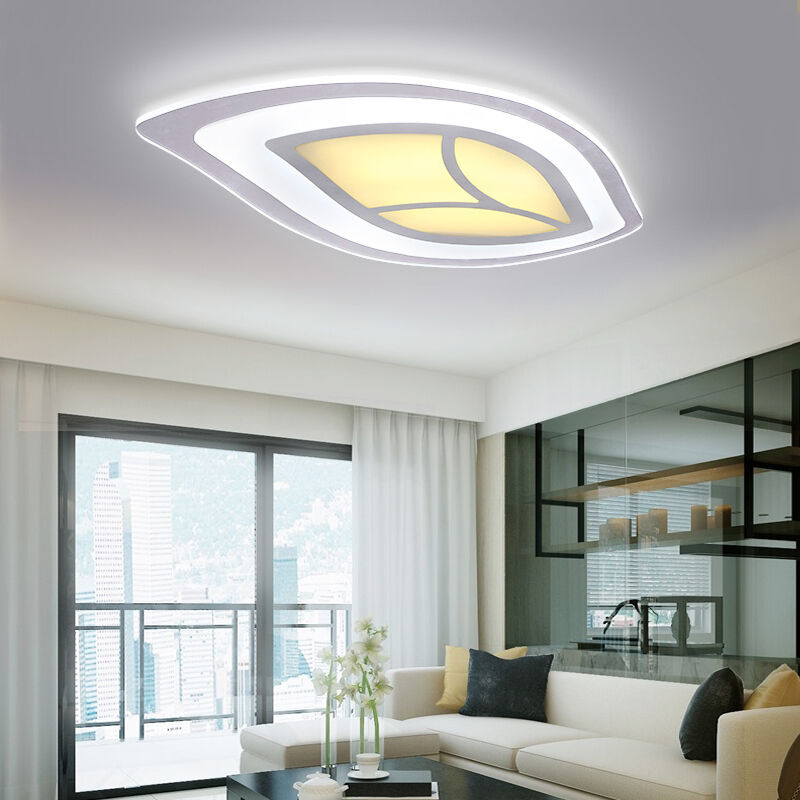 New design acrylic led ceiling fixture lighting living for Ebay living room lights