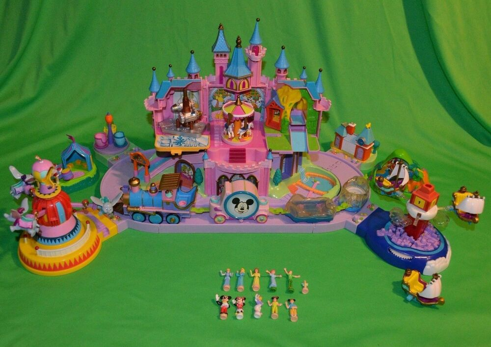 cinderella castle playset instructions