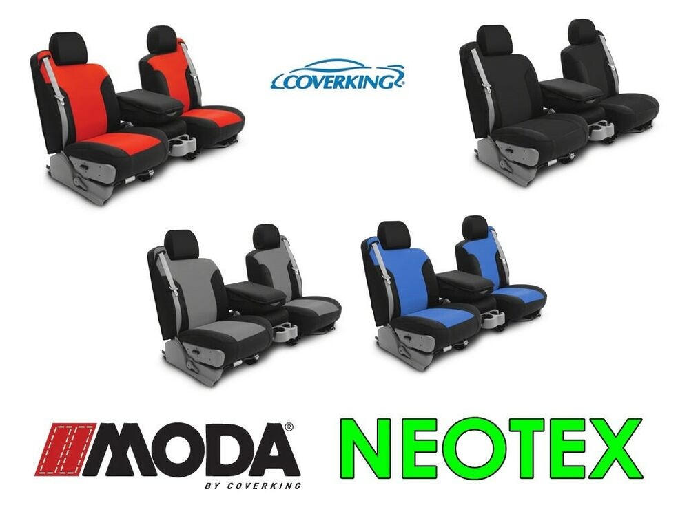 Coverking Neosupreme Custom Fit Front Seat Covers For