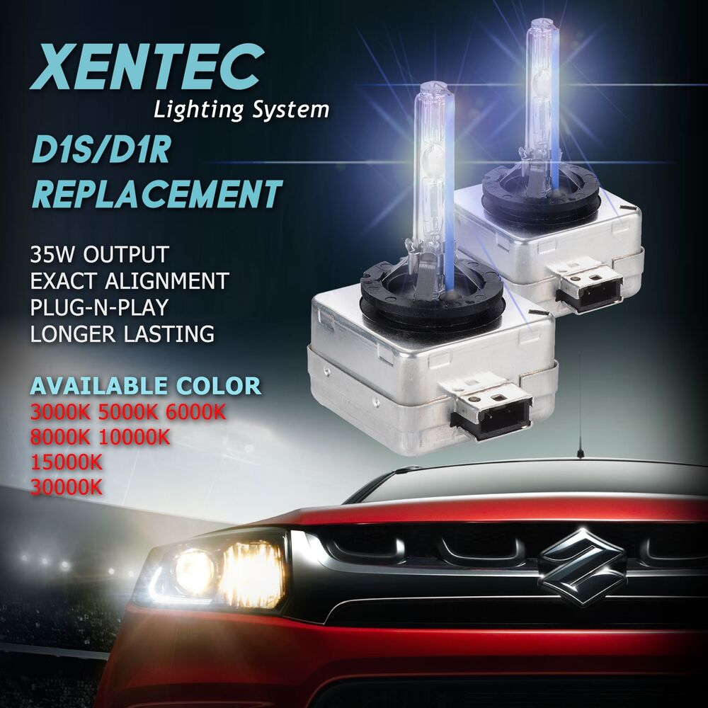 xentec xenon headlights d1s d1r hid kit 3000k 5000k 6000k. Black Bedroom Furniture Sets. Home Design Ideas