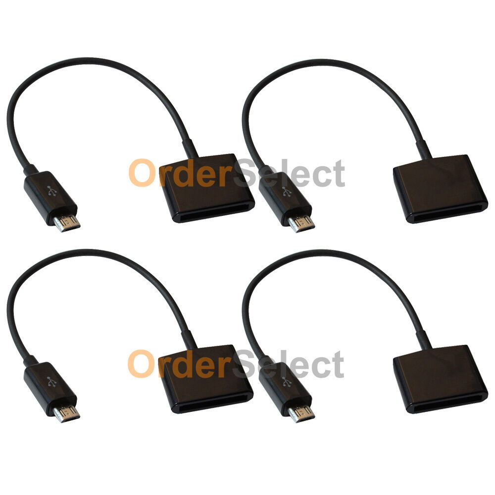 4 Charger Adapter For Iphone 4 To Usb Micro Samsung Galaxy