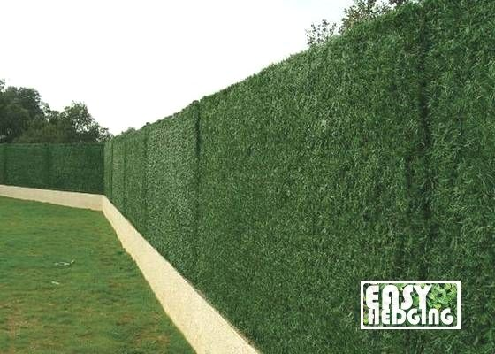 Artificial Conifer Hedge Fence Garden Wall Privacy