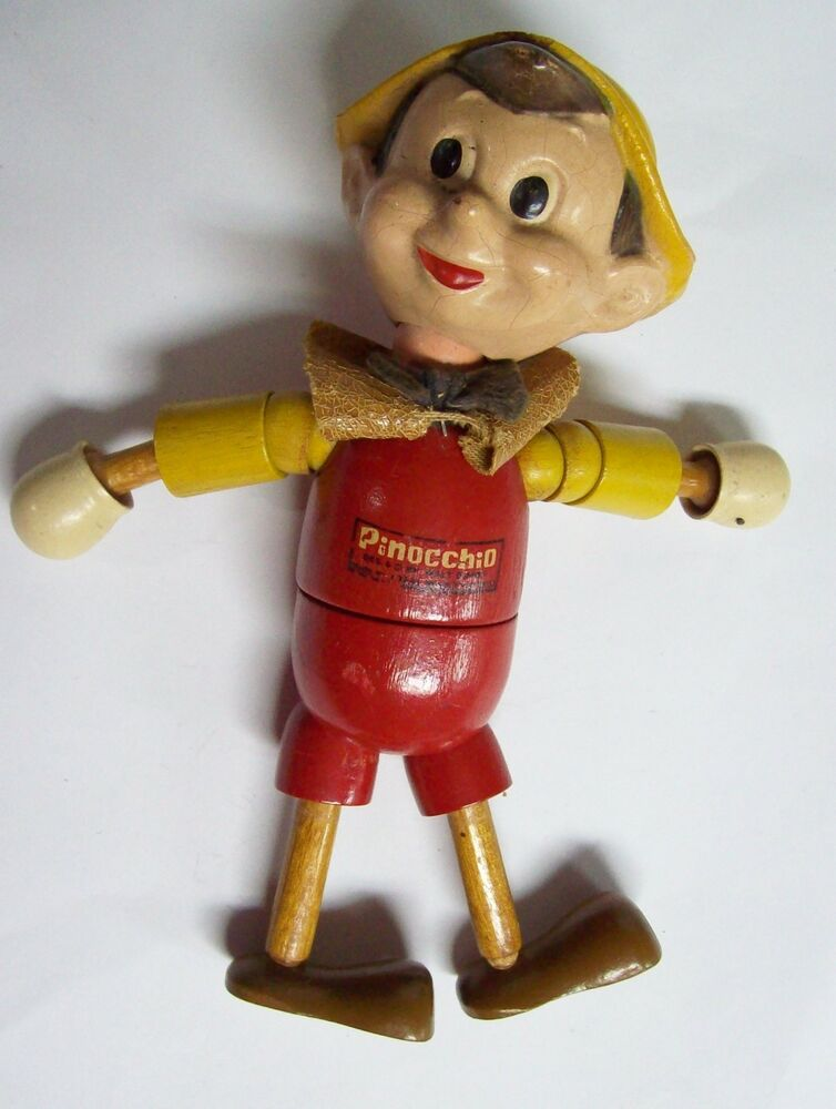 how to make a wooden pinocchio