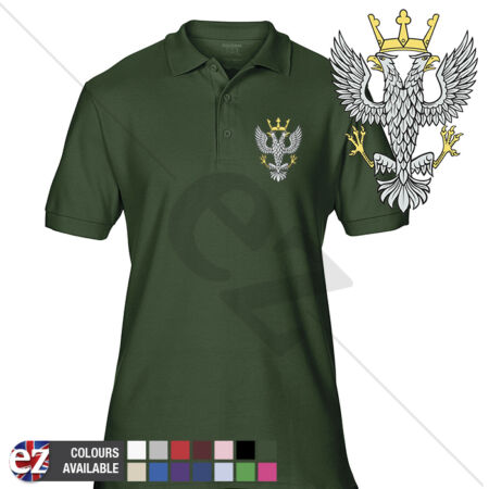 img-INFANTRY (Mercian Regiment) - Army Polo Shirt - Optional Veteran Badge