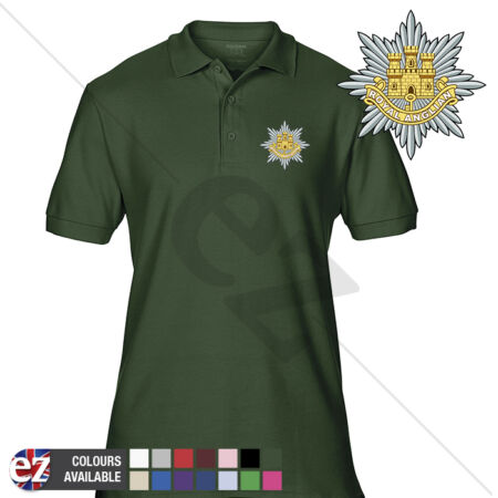 img-INFANTRY (The Royal Anglian Regiment) - Army Polo Shirt - Optional Veteran Badge