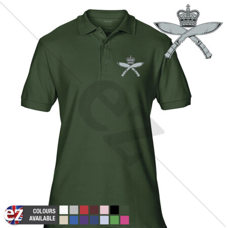 img-INFANTRY (Royal Gurkha Rifles-RGR) - Army Polo Shirt - Optional Veteran Badge