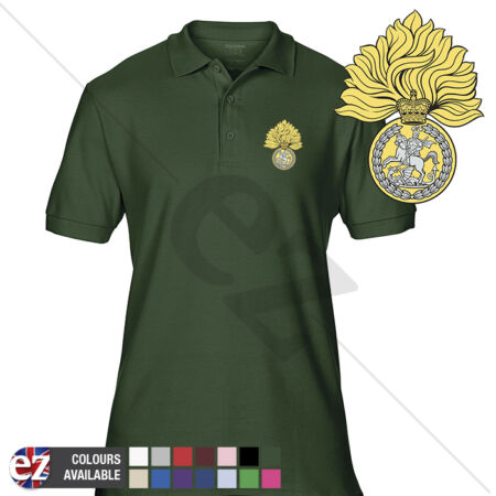 img-INFANTRY (RRF) - Army Polo Shirt - Optional Veteran Badge