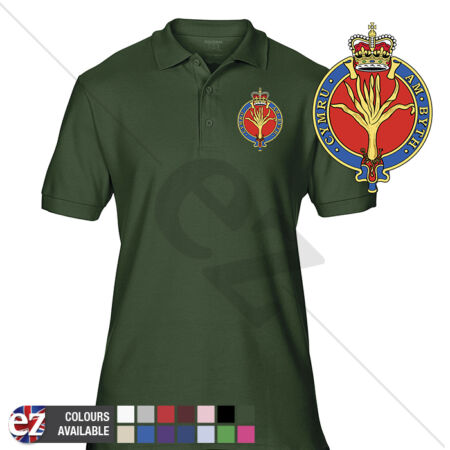 img-INFANTRY (Welsh Guards) - Army Polo Shirt - Optional Veteran Badge